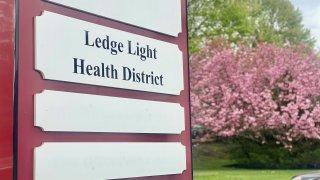 ledge light health district sign