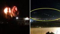 En video: por segundo día, Israel lanza lluvia de misiles sobre la Franja de Gaza