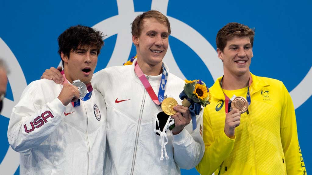 Tokyo 2020: la maquinaria estadounidense enciende motores con 6 medallas; oro para Chase Kalisz
