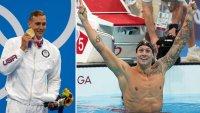 """""""Es un pedazo de metal"""": Dressel explica por qué regaló la medalla de oro que ganó"""