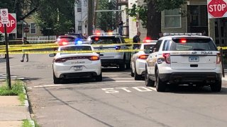 Police on Truman Street in New Haven
