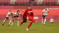 Canadá sorprende a Estados Unidos y va a la final del fútbol femenino en Tokyo 2020