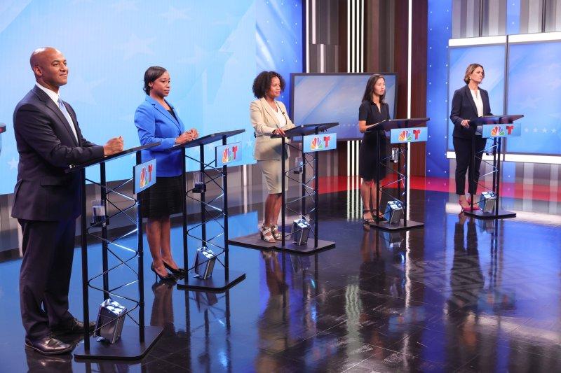 FOTOS: Candidatos a la alcaldía de Boston se enfrentan en primer debate televisado