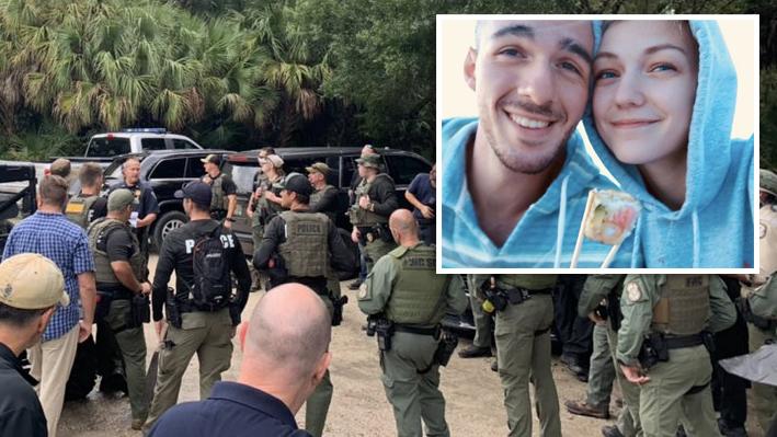"""""""No hemos hallado un cuerpo"""": buscan a prometido de Gabby Petito en reserva de Florida"""