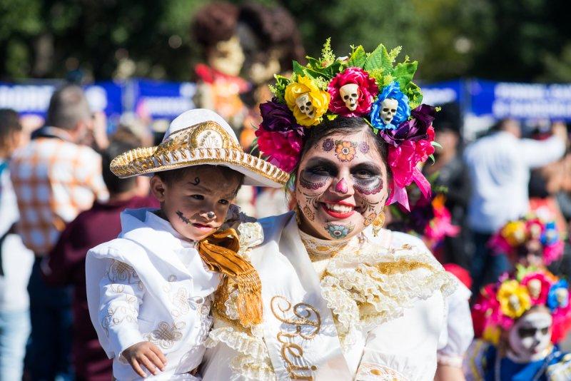 Imágenes del Día de los Muertos en Hemisfair