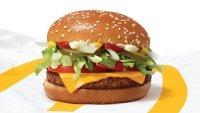 Aquí McDonald's iniciará las pruebas de su McPlant, la hamburguesa vegetariana