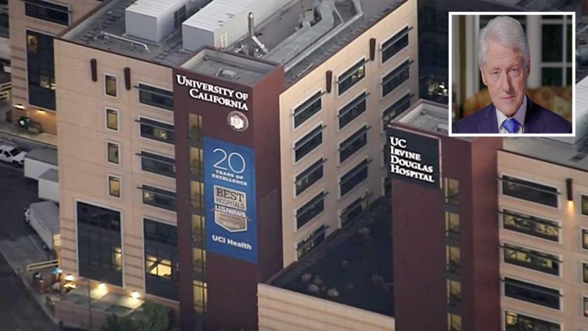 El expresidente Clinton sigue hospitalizado por una infección no relacionada con COVID-19