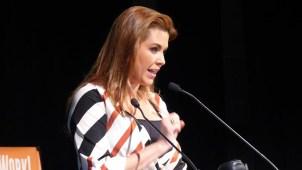 Alicia Machado habla tras mención de Clinton en debate