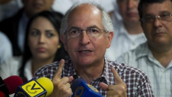 Escapa a Colombia alcalde opositor venezolano Ledezma