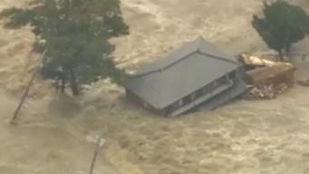 Miles de evacuados por inundaciones en Japón
