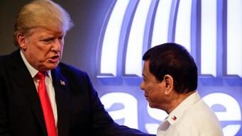 Trump elogia a Duterte, criticado por violaciones a DDHH