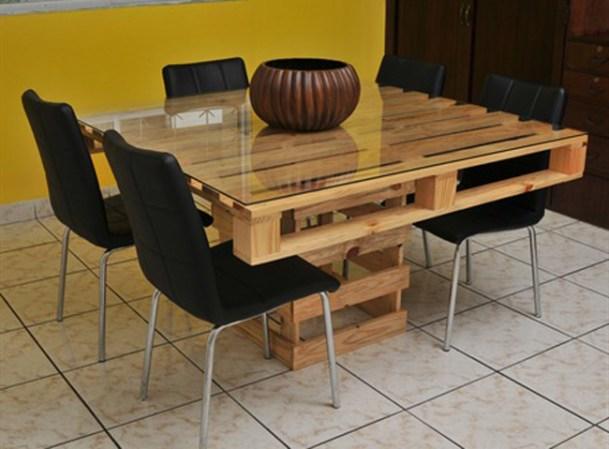 Tarimas De Madera Decoracion ~ de los muebles que puedes crear con viejas tarimas de madera