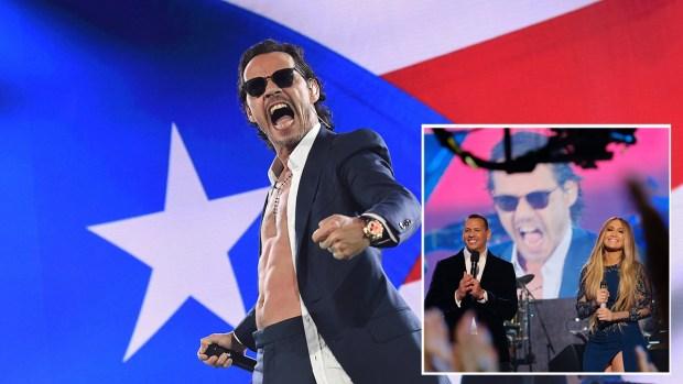 Causa sensación palabrota de Marc Anthony en concierto