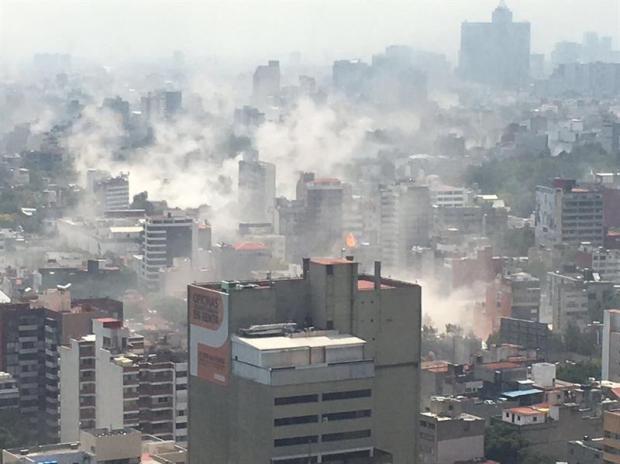 Terremoto de 7.1 eleva cifra de muertos a 250