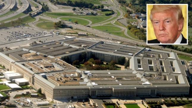 Pentágono comparte tuit pidiendo la renuncia de Trump
