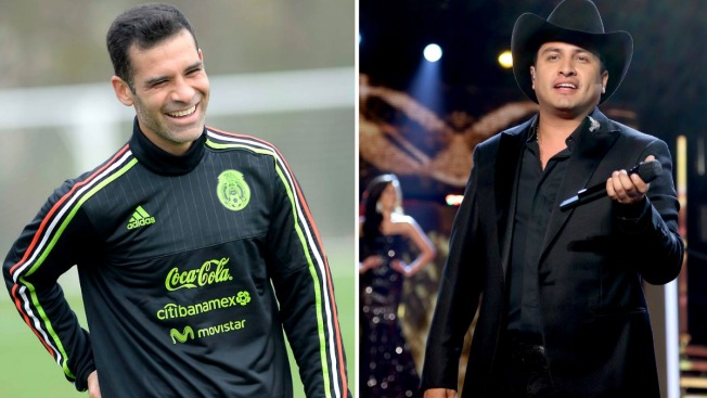 'El Potrillo' le expresa su apoyo a Julión Álvarez y Rafa Márquez