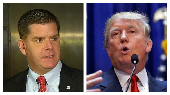 Trump arremete contra Alcalde de Boston