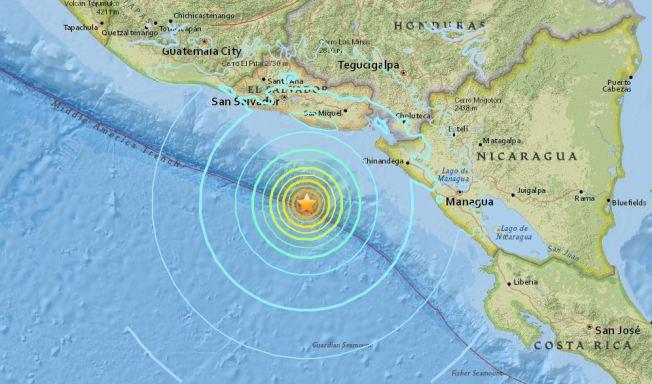 El terremoto de El Salvador se sintió en toda Guatemala