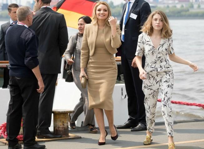 Peña Nieto llega a Hamburgo para participar en la Cumbre del G20