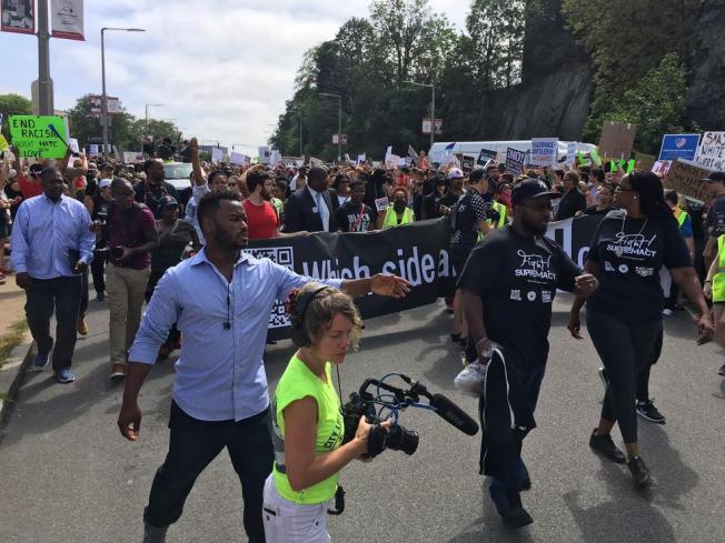 Miles asisten a manifestaciones en el Boston Common