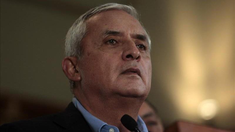 La fiscalía imputó este jueves a Pérez Molina los delitos de asociación ilícita, cohecho pasivo y caso especial de defraudación aduanera.<br />