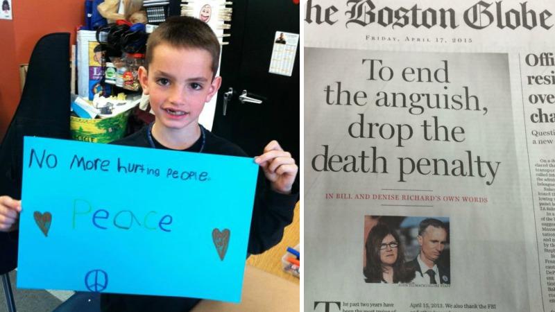 Familia Richard pide no ejecutar a Tsarnaev